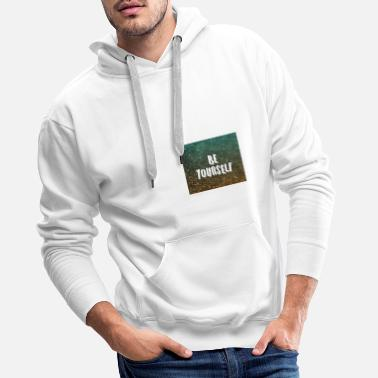 BE YOURSELF CLOTHING - Men's Premium Hoodie