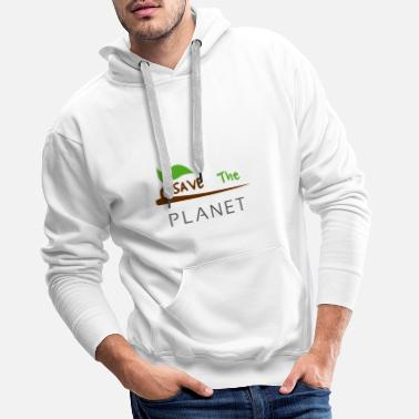 Planet save the planet - Men's Premium Hoodie