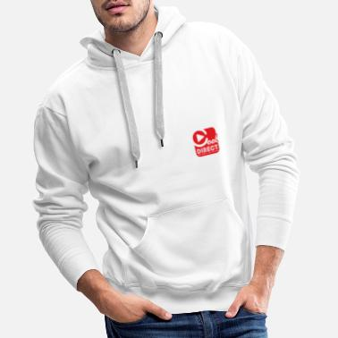 DIRECT COOL RADIO - Men's Premium Hoodie