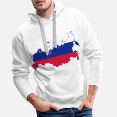 Russe COLLECTION RUSSE BEAR - Sweat à capuche premium Homme