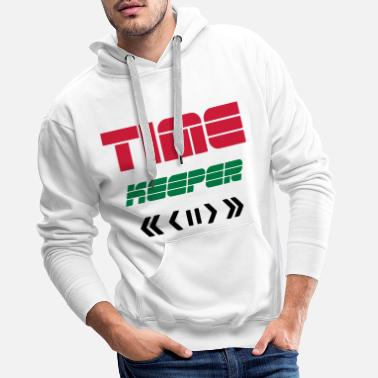 Remote TIME KEEPER - TIME TRAVELER REMOTE - TIME TRAVEL - Premium hoodie herr