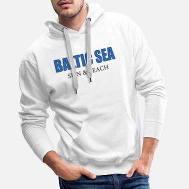Mer Baltique Mer Baltique Mer Baltique - Sweat à capuche premium Homme