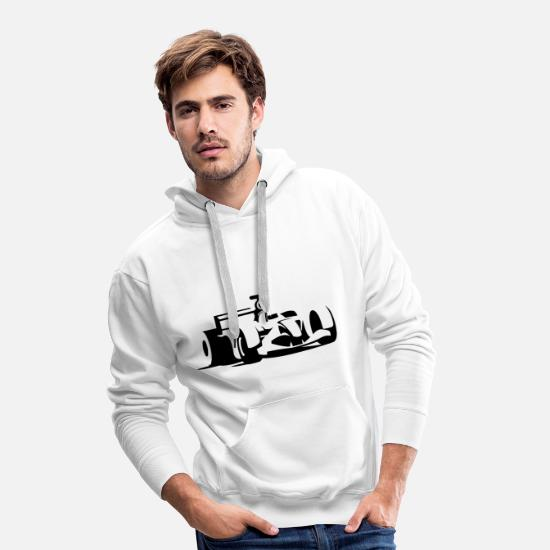 Gift Idea Hoodies & Sweatshirts - Formula 1 - Men's Premium Hoodie white