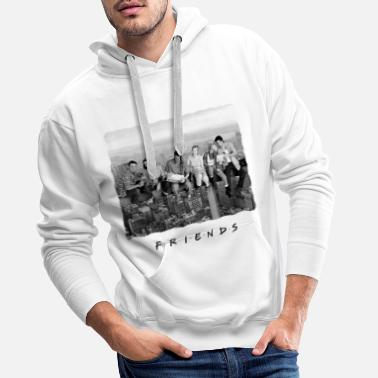 Series Friends Mittagspause New York - Männer Premium Hoodie