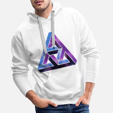 Cool Synvilla - optisk illusion - Premium hoodie herr