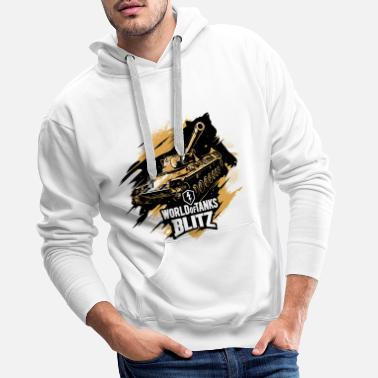 World World of Tanks Blitz - Tanks Go Wild - Men's Premium Hoodie