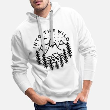 Wild Into the wild - Men's Premium Hoodie