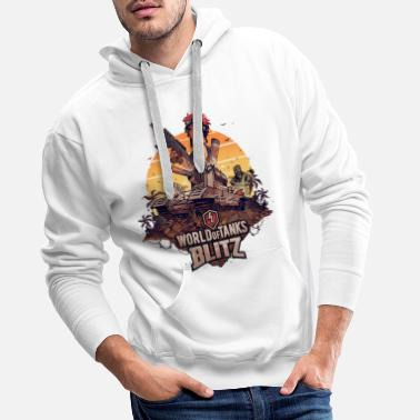 Tank World of Tanks Blitz Smasher - Men's Premium Hoodie