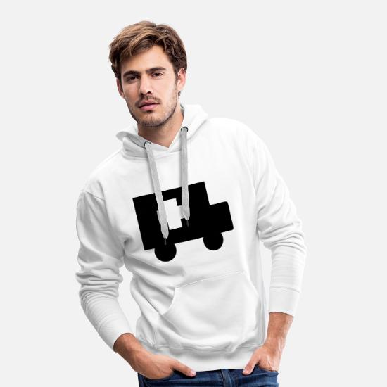 Zivi Hoodies & Sweatshirts - Ambulance - Men's Premium Hoodie white