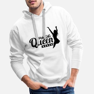 I Love dancing_queen_f1 - Premium hettegenser for menn