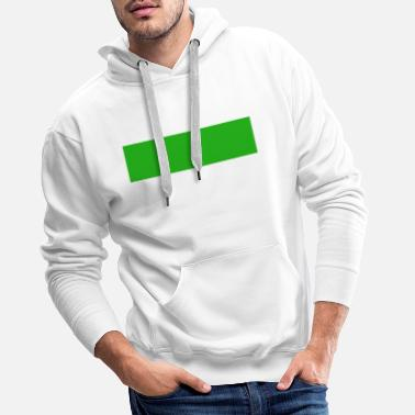 green bar - Men's Premium Hoodie