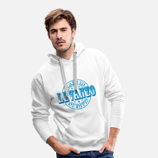 Italy Hoodies & Sweatshirts - Made in Levanzo m1 - Men's Premium Hoodie white