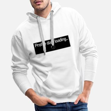 Profile data loading - Men's Premium Hoodie