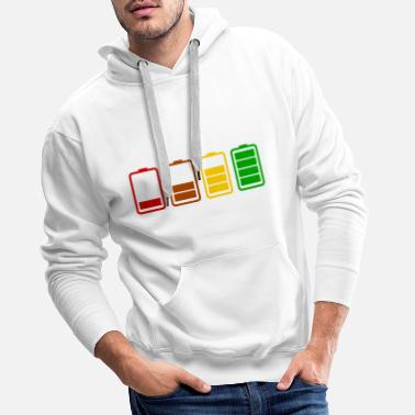 Battery Battery / battery - Men's Premium Hoodie