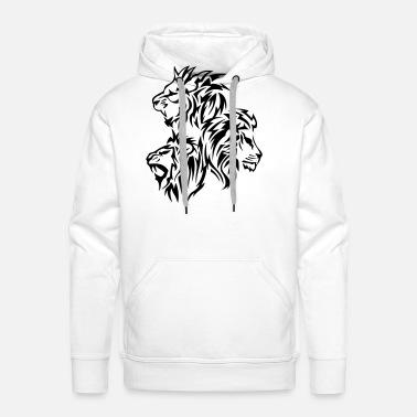 Shirt Sweat Tribal Tatouage Lion H9we2idy Hommespreadshirt 14030 Dessin dthrsQ