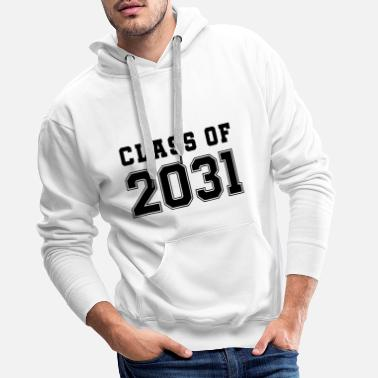 class of grow wieth me first day of school hipster - Men's Premium Hoodie