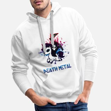 Death Fan de Death Metal - Sweat à capuche premium Homme