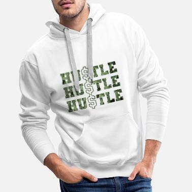 Hustle every day - Men's Premium Hoodie