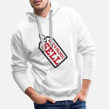 Let's Panic Sell - Day Trader Trading - Mannen premium hoodie