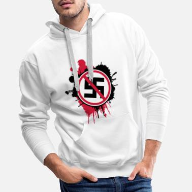Against Nazis - Men's Premium Hoodie
