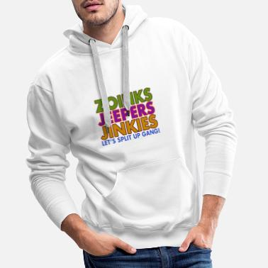 Jeepers Zoinks Jeepers Jinkies! Let's split up gang! - Men's Premium Hoodie