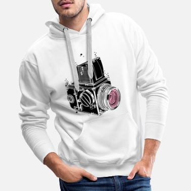 Desintegrating camera - Men's Premium Hoodie