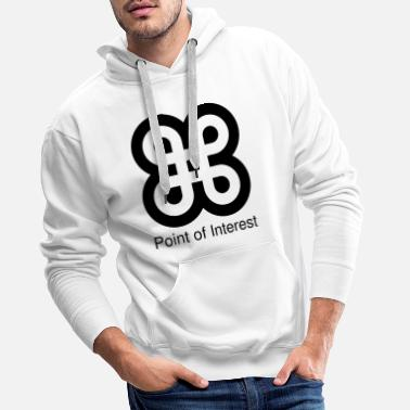 Stimmung HBL Point of Interes black 9e4048d31cfa80a8ee66890 - Männer Premium Hoodie