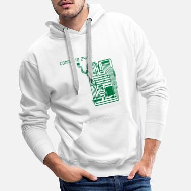 connecte2 - Sweat à capuche premium Homme