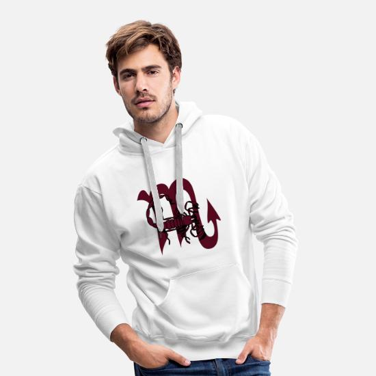 Astrology Hoodies & Sweatshirts - Zodiac of scorpions, zodiac signs, constellation, - Men's Premium Hoodie white