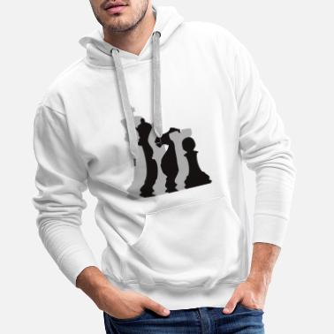 Chess Player Chess Pieces Chess Player - Männer Premium Hoodie