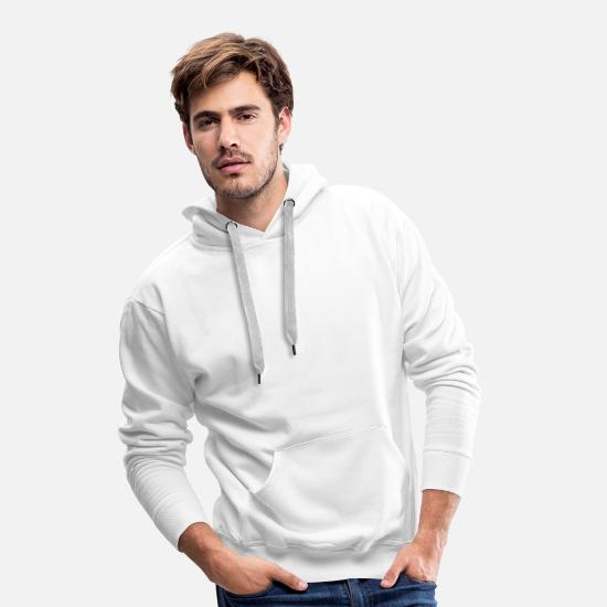 Stag Hoodies & Sweatshirts - Christmas Design for Xmas Lovers - Men's Premium Hoodie white