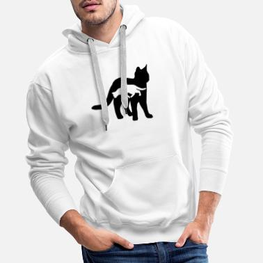 Domestic Cat domestic cat - Men's Premium Hoodie