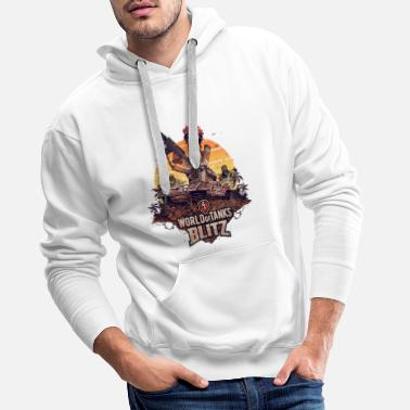 World World of Tanks Blitz Smasher - Men's Premium Hoodie