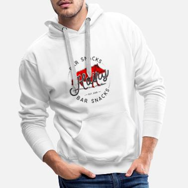 Hairy Bar Snacks Boar Brand - Männer Premium Hoodie