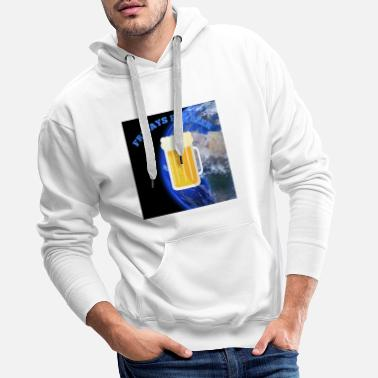 FRIDAYS FOR BEER World - Men's Premium Hoodie