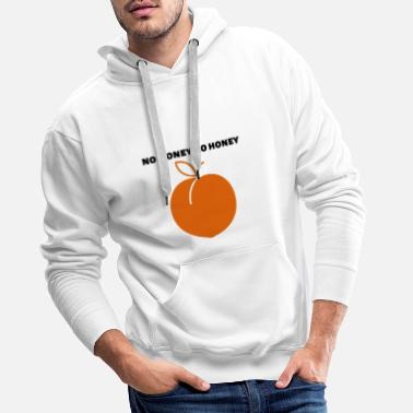 no money no honay - Männer Premium Hoodie