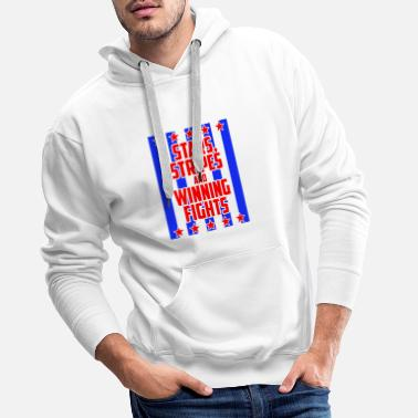 Stars And Stripes Stars and Stripes - Men's Premium Hoodie
