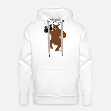 TooLoud Panda DJ Hoodie Sweatshirt