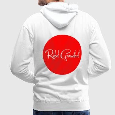 Red Circle - Men's Premium Hoodie