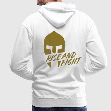 RISE AND FIGHT - Mannen Premium hoodie