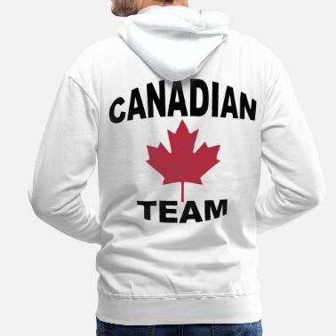 Canadian Canadian team - Men's Premium Hoodie