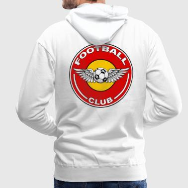 football club - Sweat-shirt à capuche Premium pour hommes