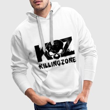 Killing Zone Logo - Premium hettegenser for menn