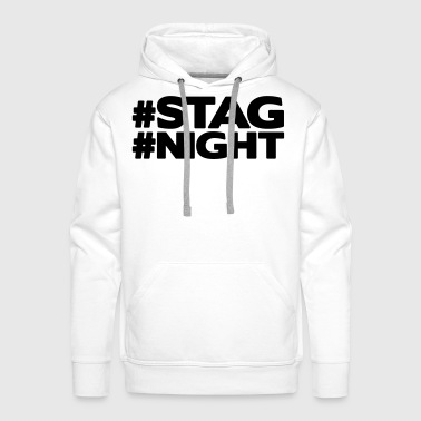 #STAG #NIGHT - Men's Premium Hoodie