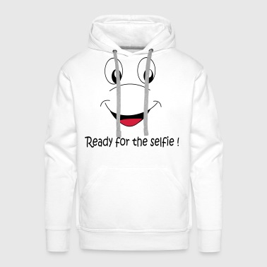 Ready for the selfie - Men's Premium Hoodie