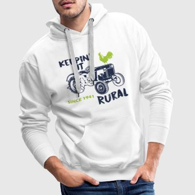 Agriculture sayings - Men's Premium Hoodie