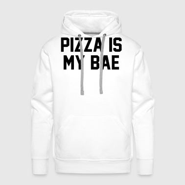 PIZZA IS MY BABE - Mannen Premium hoodie