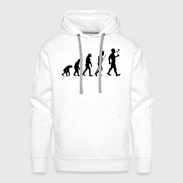Vape Design Evolution - Men's Premium Hoodie
