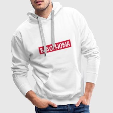 BASOPHOBIA - FEAR OF WALKING - RUNNING - Men's Premium Hoodie