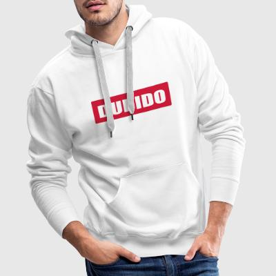 DUBIDO - You're stupid - Men's Premium Hoodie